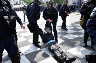 Макронов режим превентивно похапсио 165 људи, 7.500 полицајаца тукли све редом!