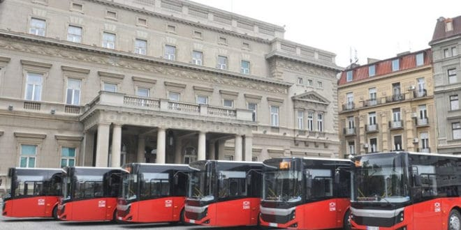 Београд: Повучено 25 нових турских аутобуса