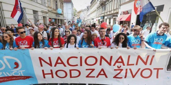 """Широм Хрватске одржава се """"Ход за живот"""" - учесници траже забрану абортуса 1"""