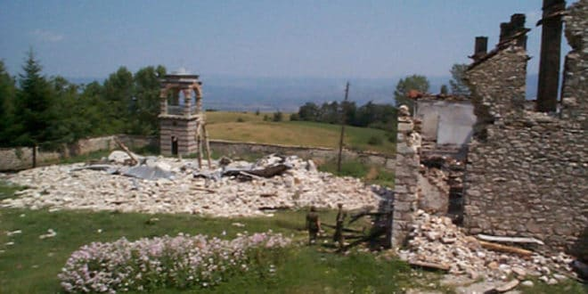 Уништене српске светиње на КиМ 1