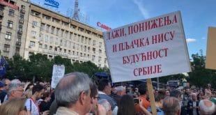 """Двадесет пети протест """"1 од 5 милиона"""" у Београду (фото, видео) 11"""