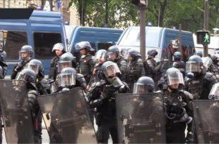 Глобалистички режим Макрона наставља да терорише Француску (видео)