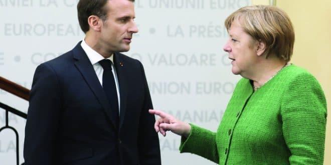 Меркелеова напушила Макрона због проблема које јој прави
