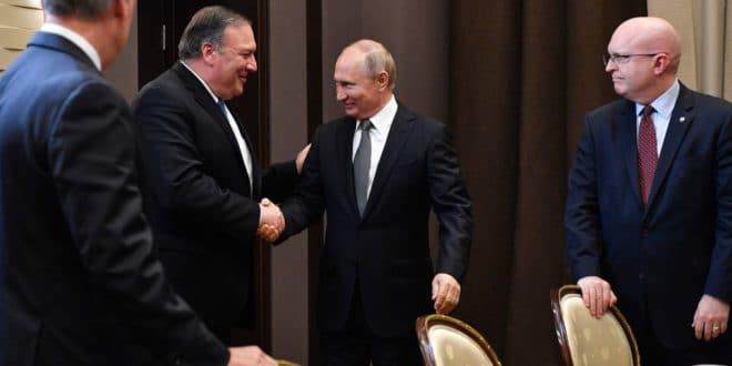 О чему Путин и Помпео нису разговарали?