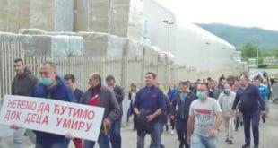 """У Сурдулици протести против немачке фабрике """"Knauf insulation"""" 8"""