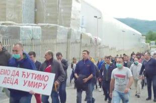 """У Сурдулици протести против немачке фабрике """"Knauf insulation"""""""