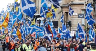 Шкотски марш независности (видео) 2