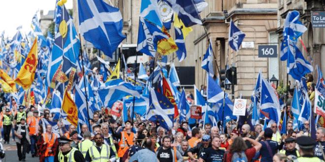 Шкотски марш независности (видео) 1