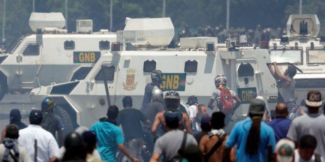 ПРОПАО ПУЧ У ВЕНЕЦУЕЛИ: Гваидо побегао из Каракаса, његови сарадници и дезертери траже азил по западним амбасадама 1