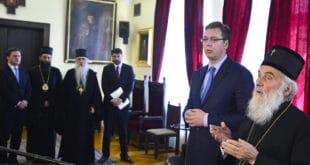 Предраг Поповић: Црква против Вучићеве издаје Kосова, претњи и трачева 6
