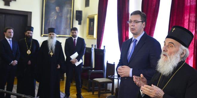 Предраг Поповић: Црква против Вучићеве издаје Kосова, претњи и трачева 1