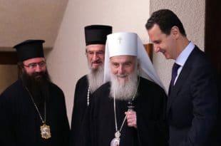 Асад: Србија и Сирија подвргнуте покушајима спољне интервенције како би се уништио суверенитет, али се народ наших земаља супротставља агресорима