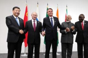 Морају се створити јасна правила за транснационалне корпорације - Путин са лидерима земаља БРИКС