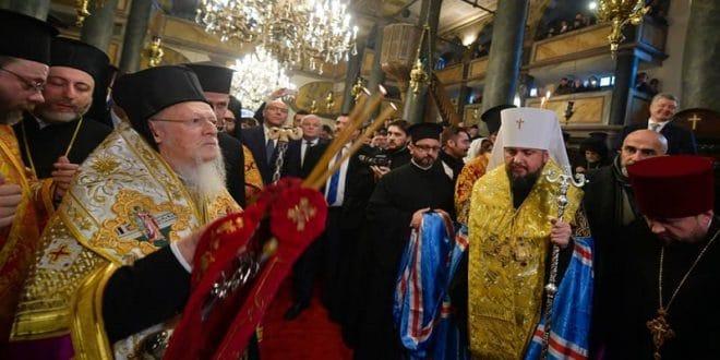 Пропаст украјинских расколника, највећи губитник – цариградски патријарх Вартоломеј 1