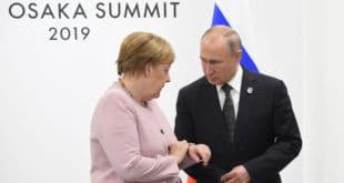 ПРСЛА? Приликом сусрета са Путином Меркел уопште није знала да се налази (видео) 4