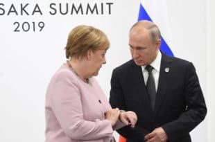 ПРСЛА? Приликом сусрета са Путином Меркел уопште није знала да се налази (видео)
