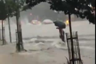 Београд тотално поплављен, читави делови града под водом, затворен аутопут (фото, видео) 11