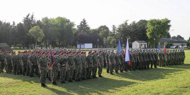 Почела војна вежба Србије, Русије и Белорусије Словенско братство 2019 (видео)