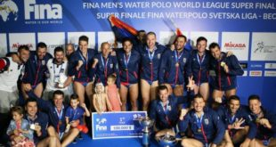 Ватерполисти Србије освојили Светску лигу и пласирали се на Олимпијске игре 5