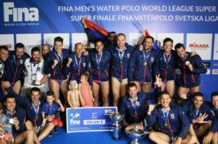 Ватерполисти Србије освојили Светску лигу и пласирали се на Олимпијске игре