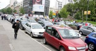 Београд: Таксисти блокирали ужи центар града 11