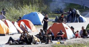 Сукоб миграната и полиције у Великој Кладуши 6