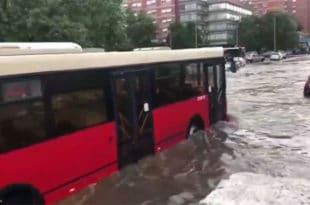 Зашто је јуче био потољен центар Београда? (видео)