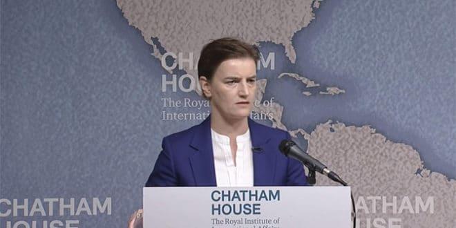 Ана Брнабић: Кад се разреши питање Косова, утицај Русије ће опасти 1