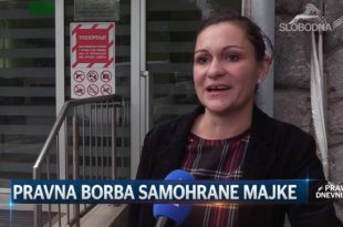 ИЗБАЦИЋЕ МЕ ИЗ СТАНА ЗБОГ СНС: Самохрана мајка иде на улицу, у игри секретар Владе… (видео)