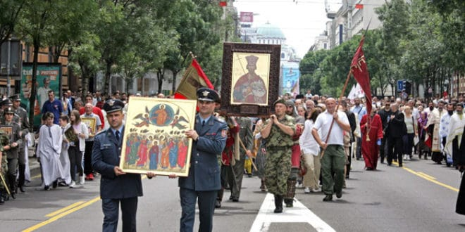 Литургијом и литијом Београд обележио славу – Спасовдан 1