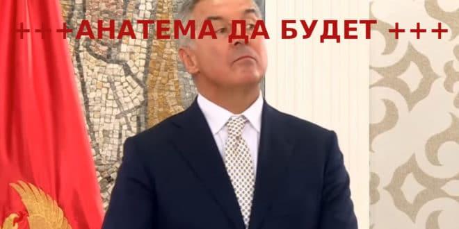 Патријарх Иринеј најавио могућност анатемисања Мила Ђукановића 1