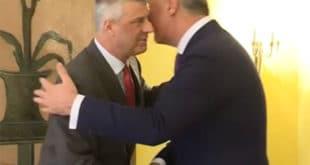 Мило и Хашим политички близанци: Сложно против Срба