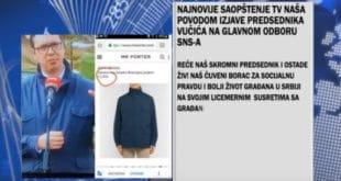 """Вучићу,  одакле ти паре да носиш """"Loro Piano"""" јакну од 3.000 € и сакое """"Cesare Attolini"""" од 2.700 €? 4"""