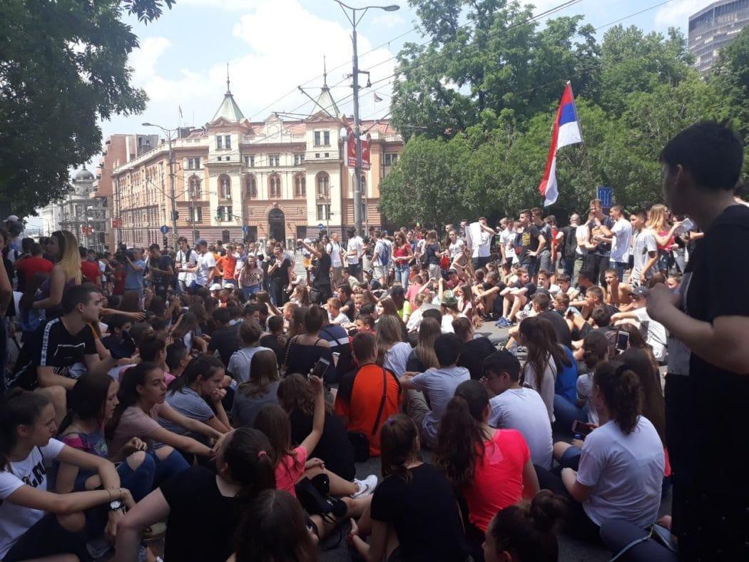 Други дан протеста због мале матуре 2