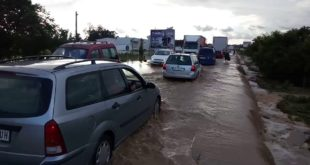 Потопљена Ибарска магистрала (видео) 10