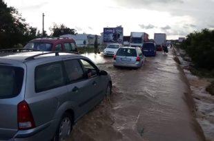 Потопљена Ибарска магистрала (видео) 8