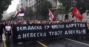 Протест патриотских организација у Београду: Космет прогласити окупираном територијом (видео) 7