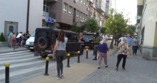 Жандармерија на два сата блокирала центар Врања 12