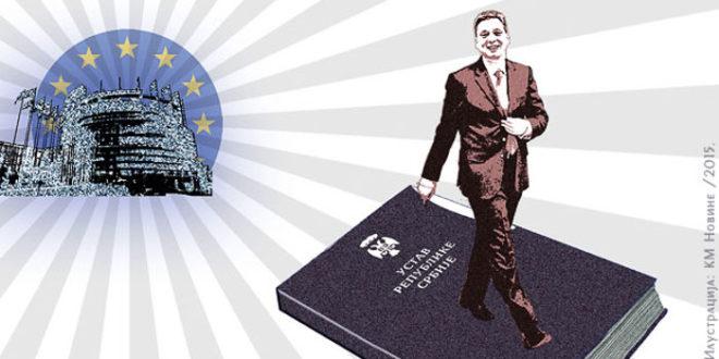 Велеиздајнички режим покренуо брзинско мењање Устава Србијe; Зашто? 1