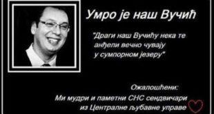"""Режим """"омчу"""" и претње ликвидацијом опозицији спинује лажним претњама Вучићу и његовој деци 5"""