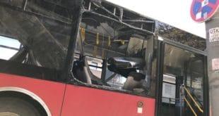 Београд: Експлозија у аутобусу, пет особа повређено, жена с тежим повредама главе 3