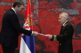 Нови амбасадор Русије Боцан-Харченко уручио акредитиве Вучићу 1