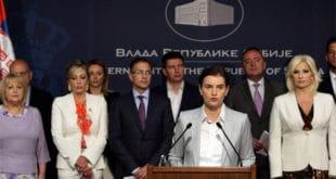 Брнабићка: Задовољна сам радом владе, мењамо Србију 5