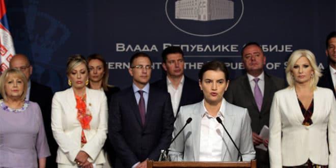 Брнабићка: Задовољна сам радом владе, мењамо Србију 1