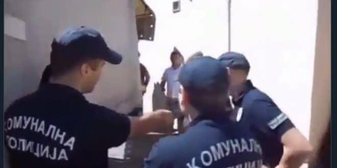 СТИЖЕ КОМУНАЛНА МИЛИЦИЈА! (видео) 1