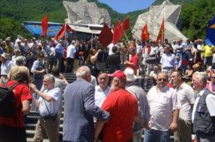 Црногорски комунисти и партизани у строју распопа Мираша