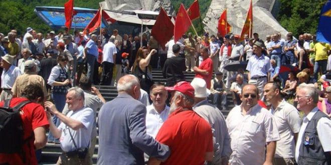 Црногорски комунисти и партизани у строју распопа Мираша 1