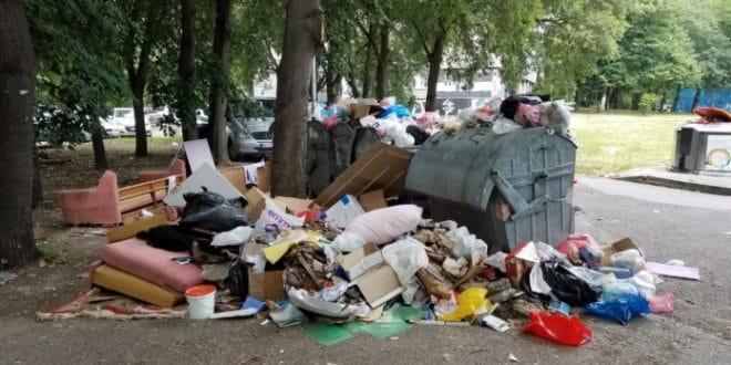 Хорор на Новом Београду: Ђубре затрпало вртић! (фото) 1