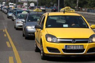 Милионски дугови: Готово 4.000 београдских таксиста није платило порез