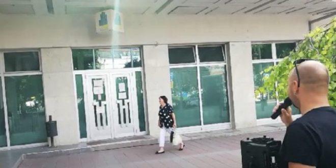 """Почели протести """"Нишке иницијативе"""" испред градских предузећа и установа (видео) 1"""
